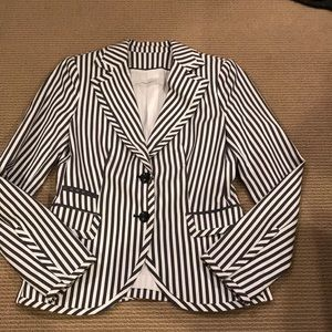 🔴ZARA STRIPED WOMANS BLAZER